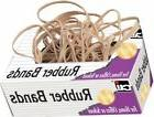 """Charles Leonard Rubber Bands, Tissue-style Box, #73,3"""" x 3/8"""