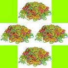 GLOW IN THE DARK Band Refill 2400 rubber band 100 S-Clip for