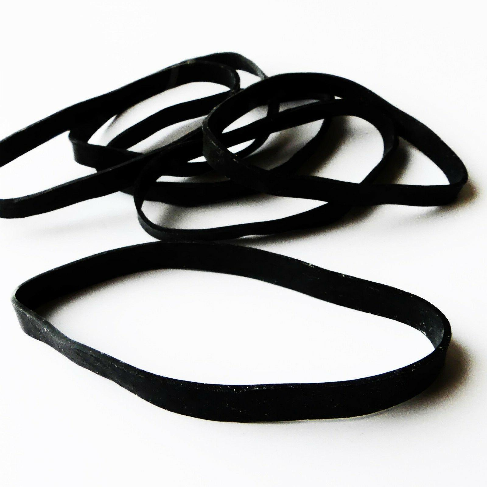 HEAVY-DUTY LARGE BLACK RUBBER BANDS | Resist the Elements