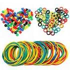 ITATOO® Colorful Tattoo Grommets Nipples O Ring and Rubber