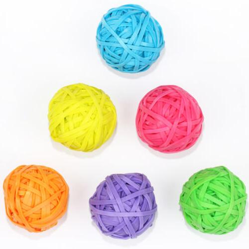 Office+Style 6 Rubber Band Balls Close-Lid Storage Cases, Ct.