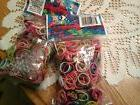 Rainbow Loom Latex Free Rubber Band Refill + C-clips  set of