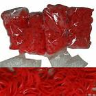 2400 RUBBER ALL RED COLOR BANDS for Rainbow LOOM REFILL +100