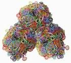 Rubber Bands Refill Rainbow Loom 1800pcs Latex Free C_clips