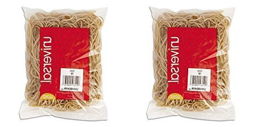 Universal 00419 19-Size Rubber Bands, 335 per Pack, 2 Packs