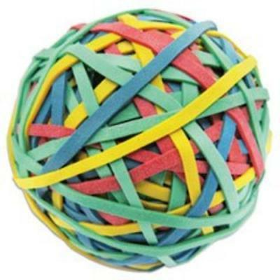 "Universal Rubber Band Ball 3"" Size 2 3/4"" Length 260 Bands 0"