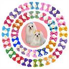 above 30 styles Pet Dog Hair Bows Rubber Bands Pet Grooming
