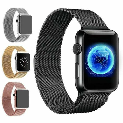 FOR APPLE WATCH BAND 38MM WOMEN ROSE GOLD REPLACEMENT IWATCH