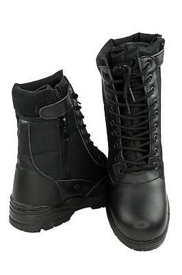 Army Combat boots with Zip Combat Boots