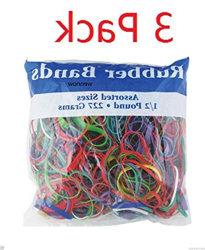 Assorted 0.5 Lbs. Rubber