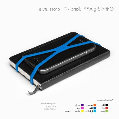 """Grifiti Band Cross Style 4"""" Pack Art, Exercise, Replacements, Silicone or"""