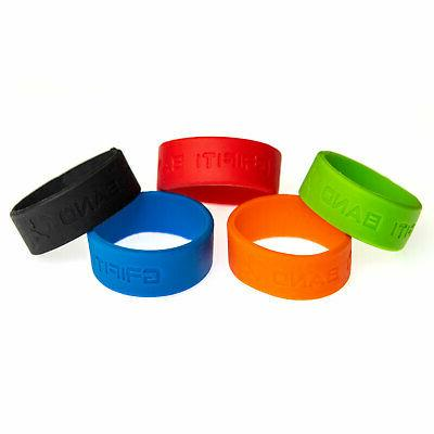 Grifiti 2 Inch 5 Pack Silicone Rubber Band Outdoor