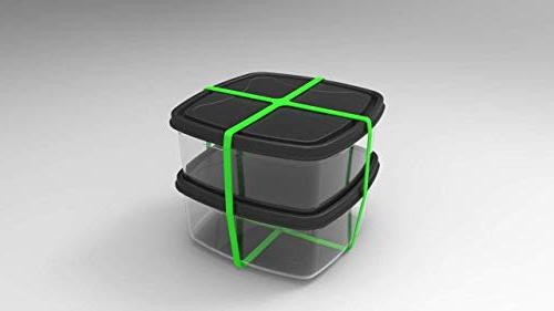 Grifiti Band Joes X Cross Style Pack Heat Cold UV Chemical Pots, Cooking, Wrapping, Exercise, Bag Wraps Rubber Elastic