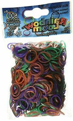 chameleon mood change rubber bands with 24