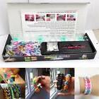 Crafts Colourful Rainbow Loom Rubber Bands Bracelet Making K