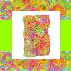 GLOW IN THE DARK- 600 pcs RUBBER BAND & S-CLIPS LOOM KIDS BR