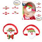 Hair Accessories Sweet Baby Rubber Christmas Headbands For G