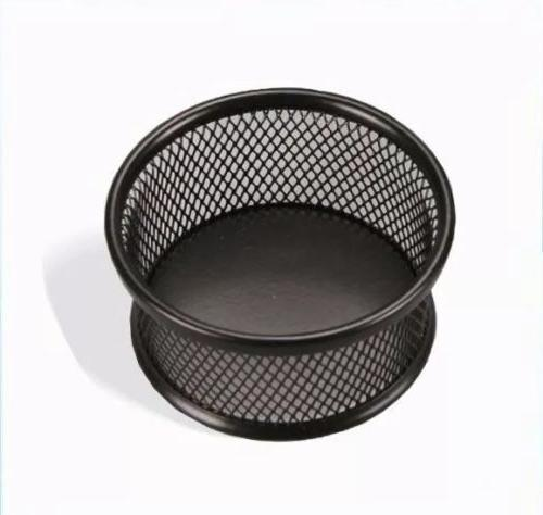 mesh holder for paper clips rubber bands