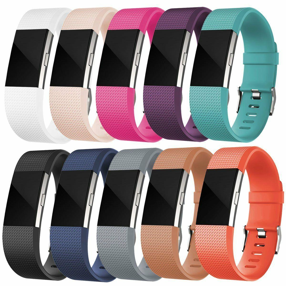 Replacement Silicone Band Rubber Strap Wristband Bracelet Fo