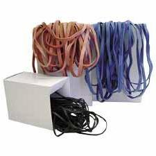 """Alliance Rubber : Rubberband, Small, 7"""", Black -:- Sold as 2"""