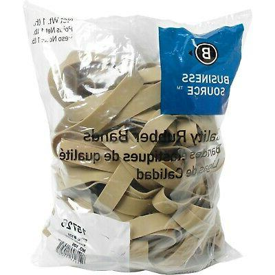 Business Source Size 14 Rubber Bands - 1 lb. Bag