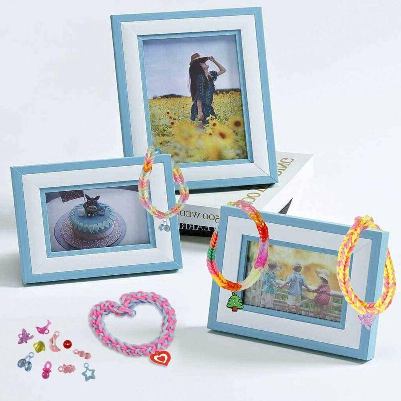 Rubber Bands Craft Hook& Beads Storage Color