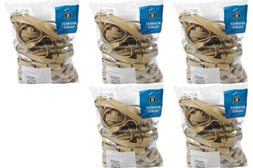 Business Source Size Rubber Bands 1 lb. Bag