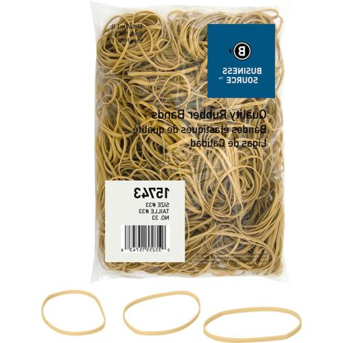 Business Source Size 33 Rubber Bands 15743