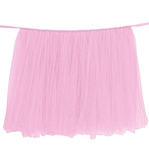 tulle table skirts