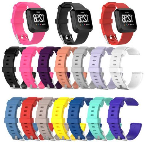 US Replacement Silicone Rubber Classic Band Strap Wristband