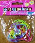 ZOO ANIMALS Shape Rubber Bands 12pc Pack Bracelets Multi-Col