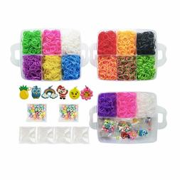 Loom Kit-4500 Rubber Loom Bands Bracelet Making Kit, 5 Color