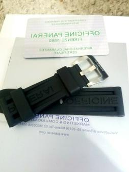 Panerai Luminor Rubber Strap Band 24mm High Quality and Fast