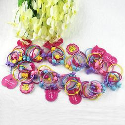 new 50pcs cartoon animal elastic hair band