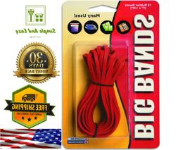 New Alliance Rubber Big Rubber Bands 12 Pack 7Inch X 18Inch-