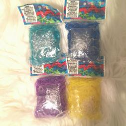 NEW Authentic Rainbow Loom Rubber Bands - 600 Bands & 24 C-C