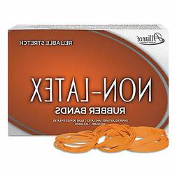 Alliance Non Latex Orange Rubber Bands, Size 117B, 7 X 1/8,