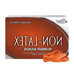 Alliance Non Latex Orange Rubber Bands, Size 64, 3-1/2 X 1/4