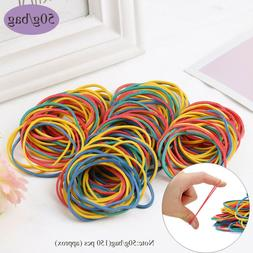 Office Supplies Colorful Rubber Ring Elastica Bungee Rubber
