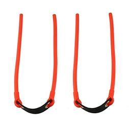 SinoArt 2-Pack Outdoors Heavy-Duty Slingshot Replacement Ban