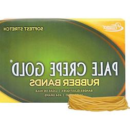 Alliance Pale Crepe Gold™ Rubber Bands In 1 Lb. Box, #19 3