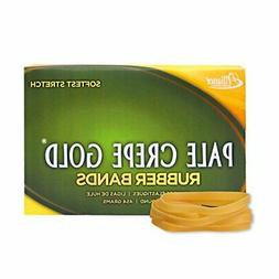 ** Pale Crepe Gold Rubber Bands, Size 64, 3-1/2 x 1/4, 1lb B