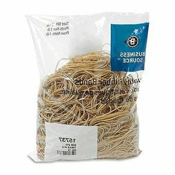 Business Source Products - Rubber Bands, Size 19, 1LB/BG, Na