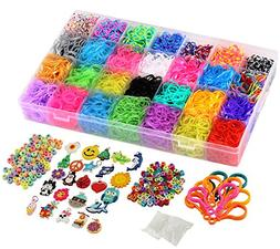 Rainbow Loom Rubber Bands Refill Kit Carfting Accessories Br
