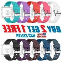 Replacement Silicone Rubber Band Strap Wristband Bracelet Fo