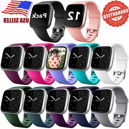 Replacement Silicone Rubber Classic Band Strap Wristband For