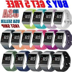 Replacement Silicone Rubber Classic Band Wristband Strap For