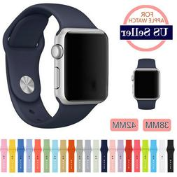 Sports Silicone Band Strap For Apple Watch iWatch Series 1/2