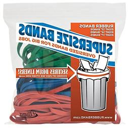 Alliance Rubber 08997 SuperSize Bands, Assorted Large Heavy