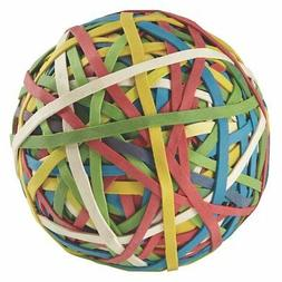 ACCO Rubber Band Ball, 275 Bands per Ball, Assorted Colors